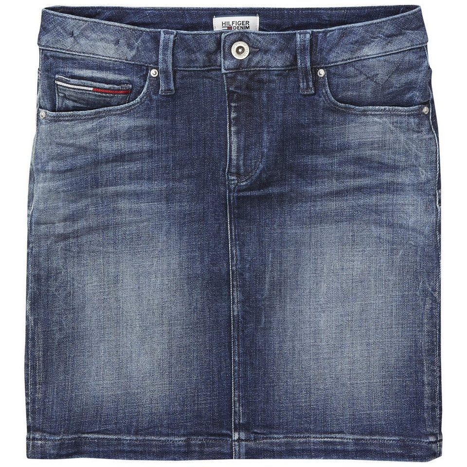Hilfiger Denim Rock »THDW BASIC 5 POCKET SKIRT CRST« in CROSS STRETCH