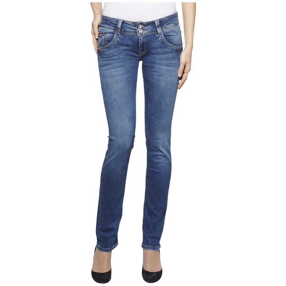 Hilfiger Denim Jeans »LOW RISE STRAIGHT VIOLA RYBST« in ROYAL BLUE STRETCH