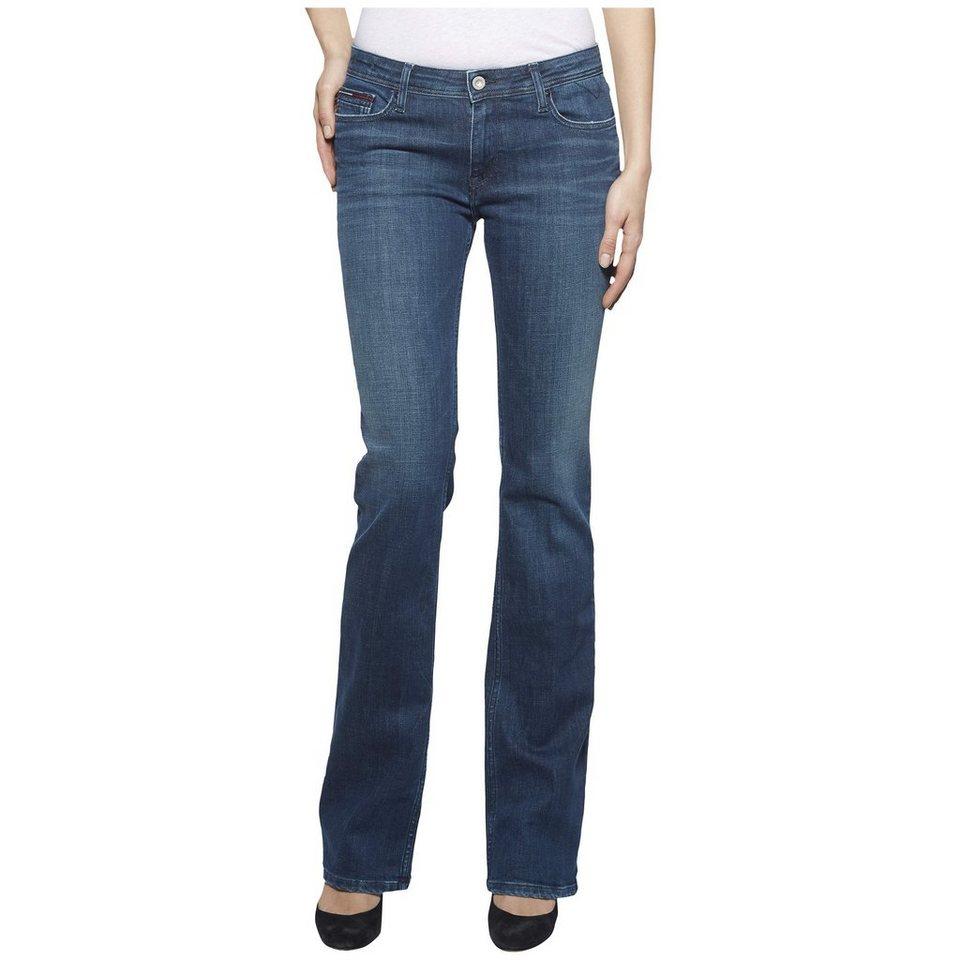 Hilfiger Denim Jeans »MID RISE STRAIGHT BOOTCUT SANDY« in EMERALD STRETCH