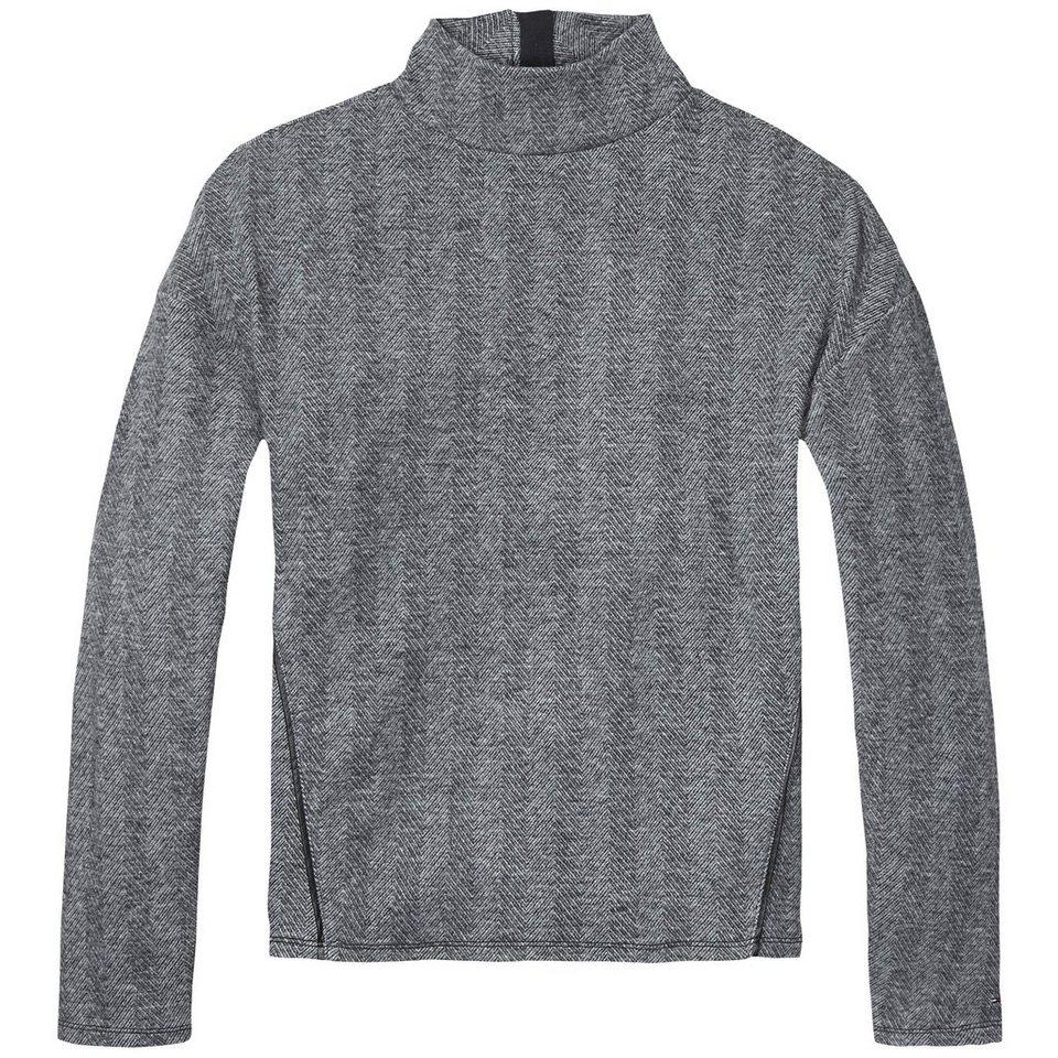 Hilfiger Denim Sweatshirt »THDW TNK LT KNIT L/S 16« in Dark grey htr