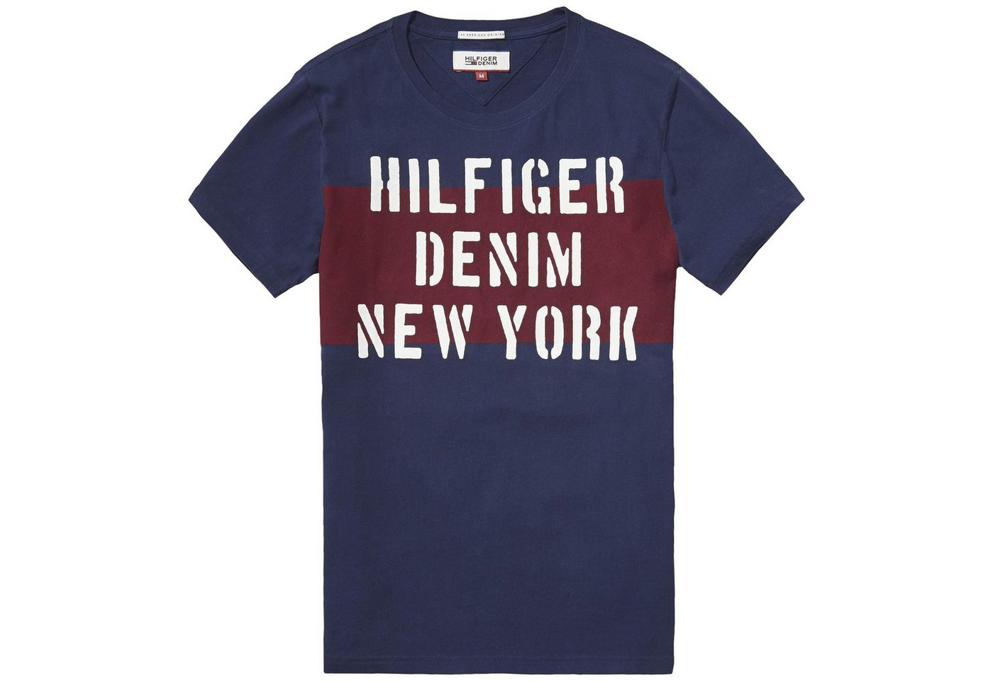 hilfiger denim -  T-Shirt (kurzarm) »THDM CN T-SHIRT S/S 19«