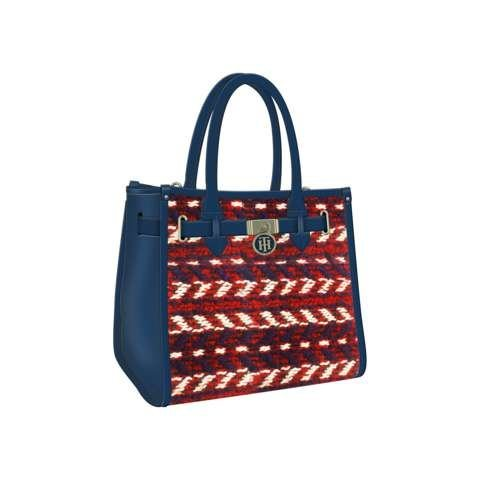 Tommy Hilfiger Handtasche »AMERICAN ICON TOTE« in Corporate Tweed