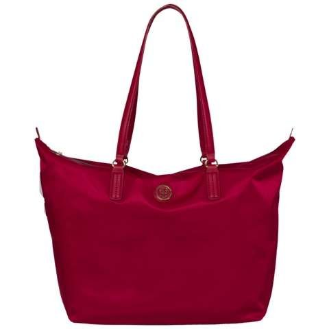 Tommy Hilfiger Handtasche »POPPY TOTE« in Scooter RED