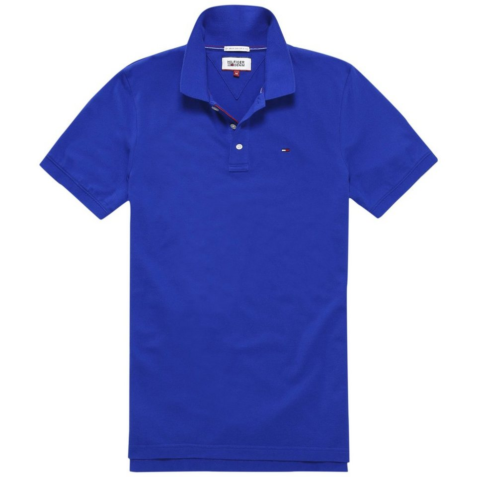 Hilfiger Denim Poloshirt »THDM BASIC POLO S/S 1« in Surf the Web