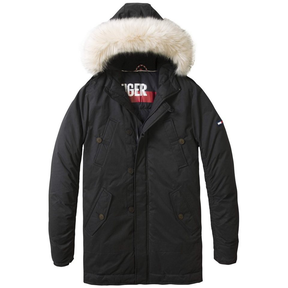 Hilfiger Denim Jacke »THDM HIGH WINTER PARKA 50« in Caviar