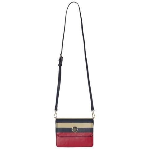 Tommy Hilfiger Handtasche »HONEY FLAP CROSSOVER STRIPE«
