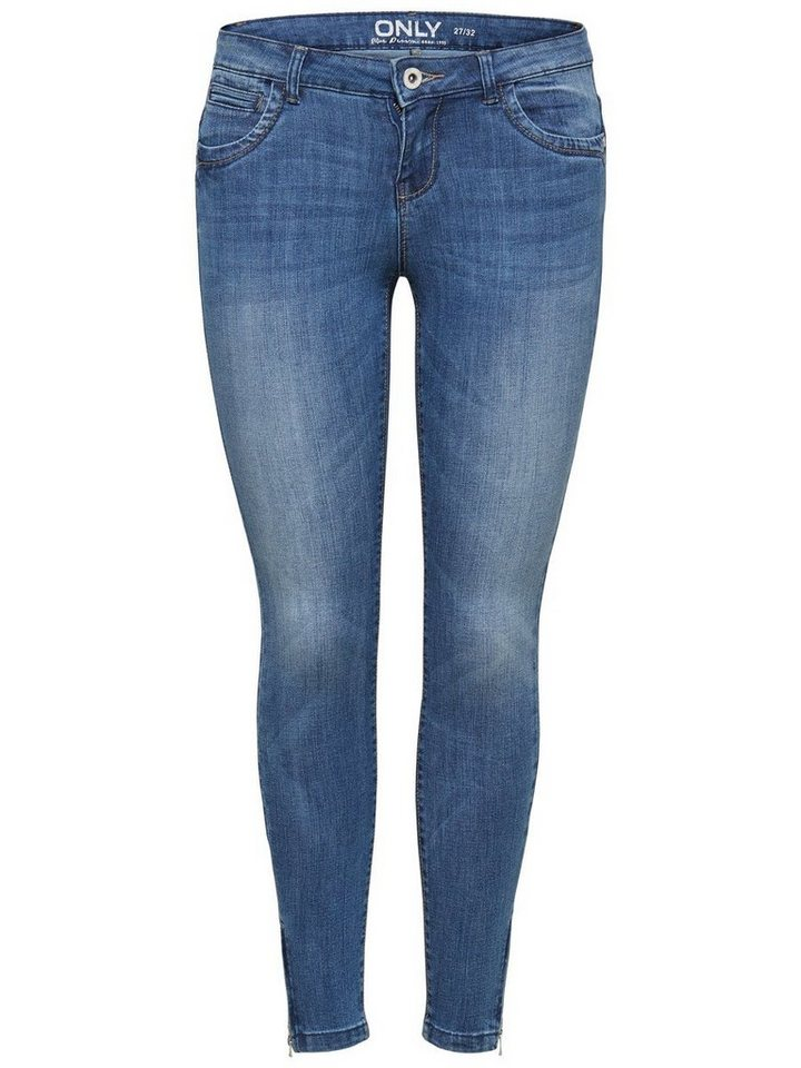 Only Kendell Ankle Skinny Fit Jeans in Medium Blue Denim