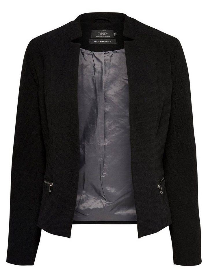 Only Offene Blazer in Black