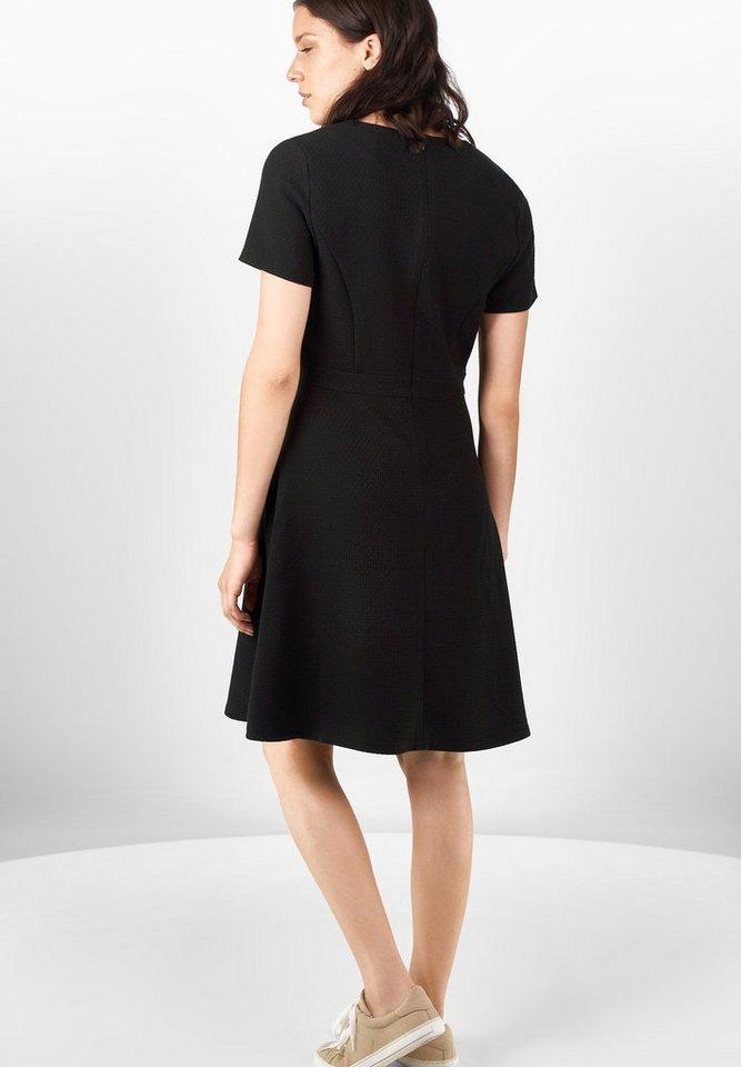 Street One Feminines Jerseykleid Lena in Black
