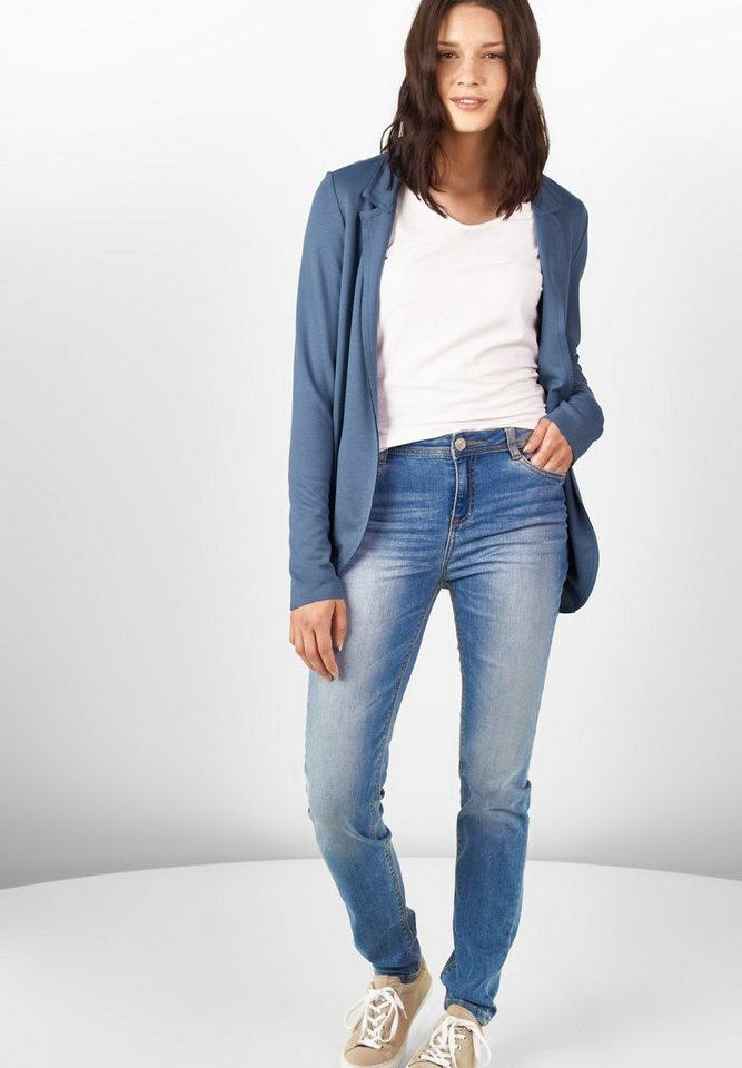 Street One Offener Sweatblazer Jenny in endless blue