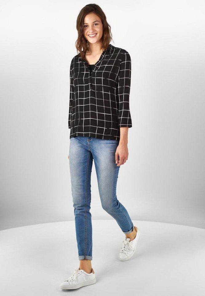 Street One Hemdblusen-Shirt Flavia in Black