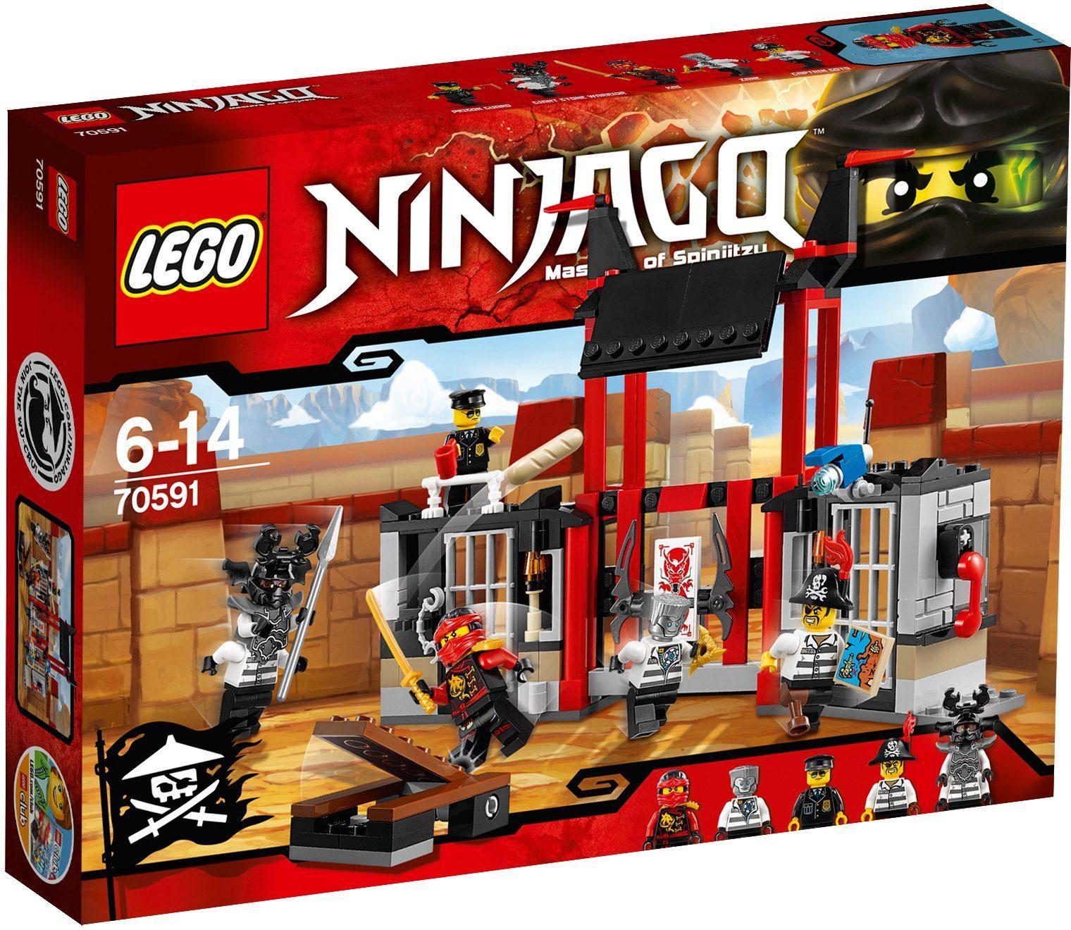LEGO®, Gefängnisausbruch (70591), »LEGO®NINJAGO™«