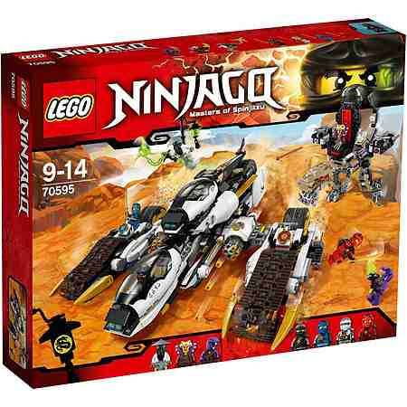 LEGO® Tarnkappen Fahrzeug (70595), »LEGO® Ninjago«