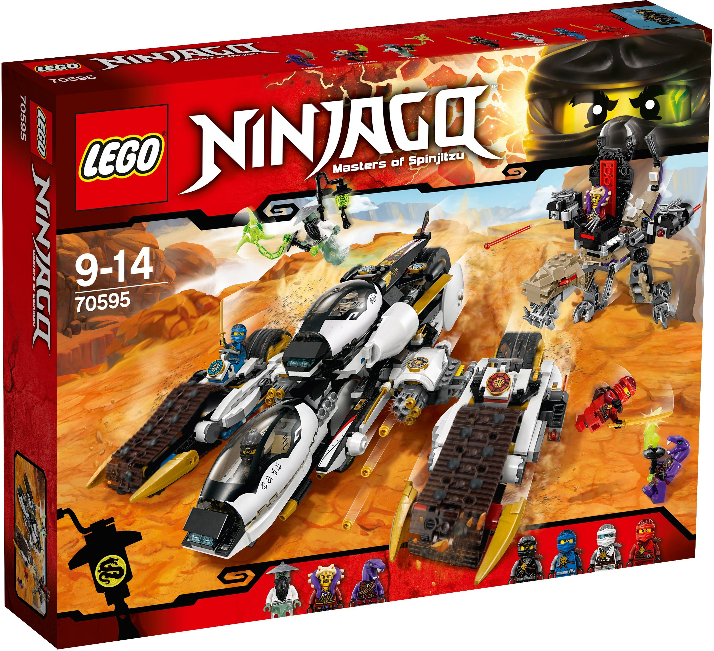LEGO®, Tarnkappen Fahrzeug (70595), »LEGO® Ninjago«