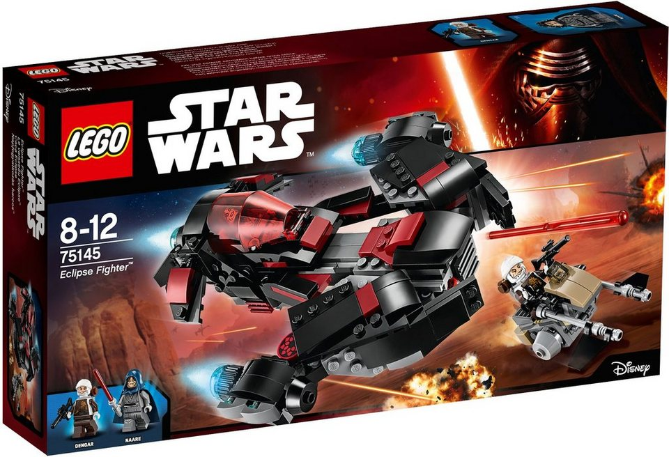 LEGO®, Eclipse Fighter™ (75145), »LEGO® Star Wars™« in schwarz/sil.