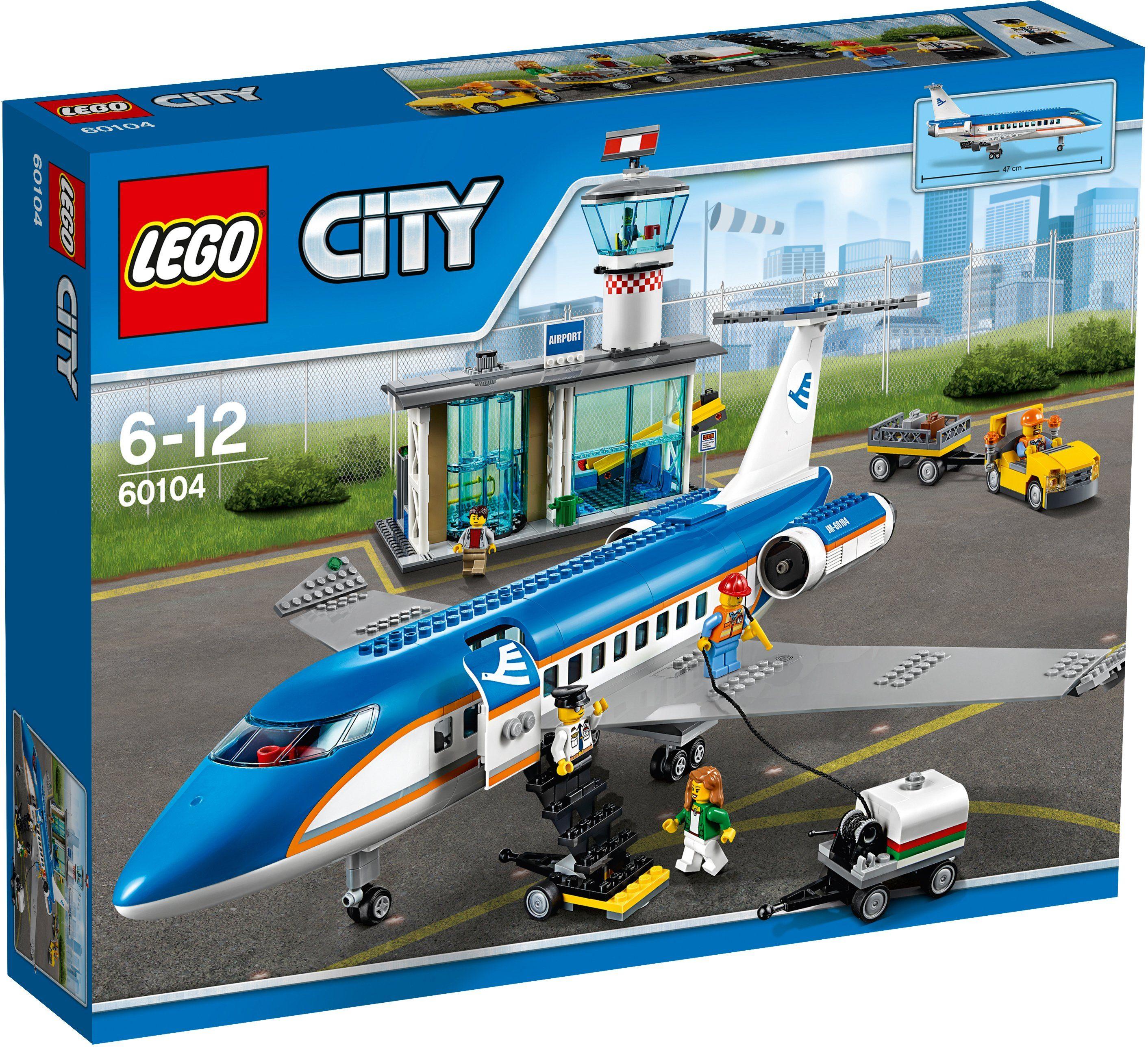 LEGO®, Flughafen-Abfertigungshalle (60104), »LEGO® City«