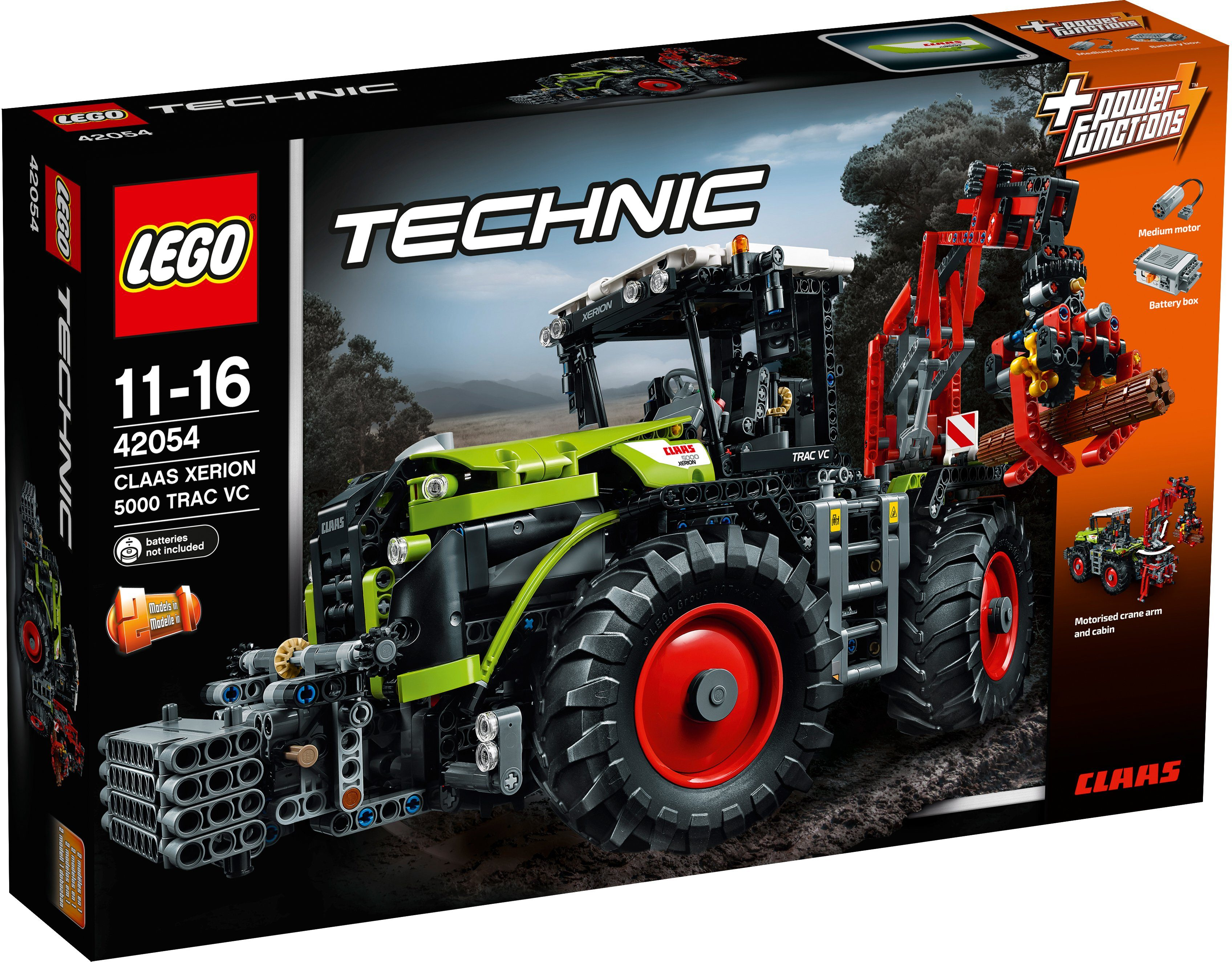 LEGO®, CLAAS XERION 5000 TRAC VC (42054), »LEGO® Technic«