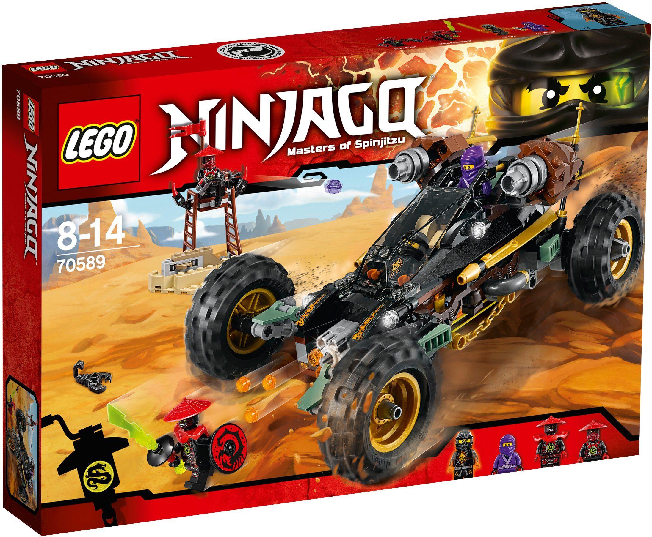 LEGO®, Felsen-Buggy (70589), »LEGO® NINJAGO™«