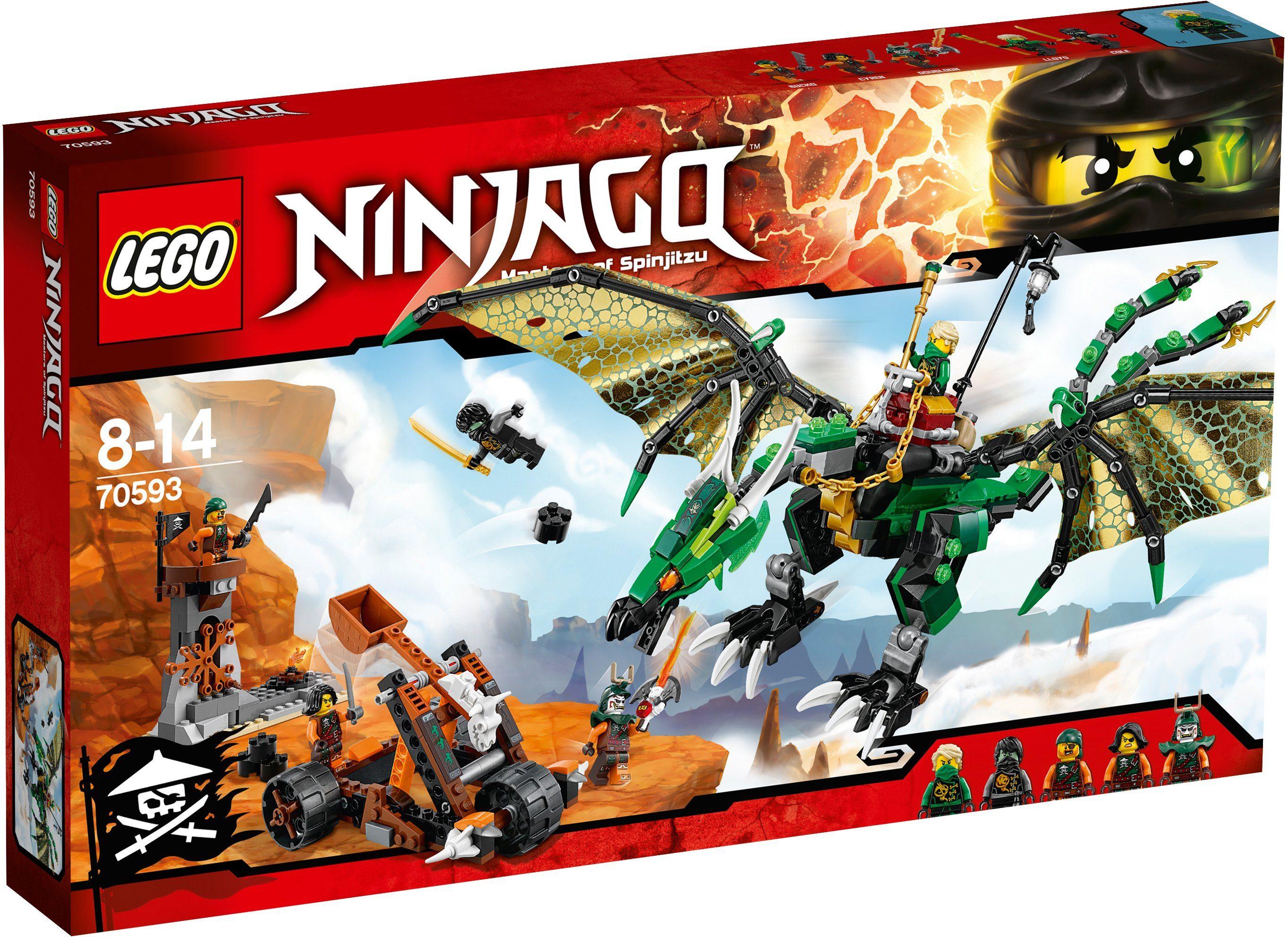 LEGO®, Der Grün Energie-Drache (70593), »LEGO® NINJAGO™«