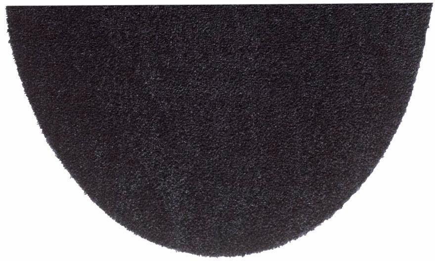 Fußmatte »Deko Soft«, Hanse Home, U-förmig, Höhe 7 mm, saugfähig, waschbar in schwarz