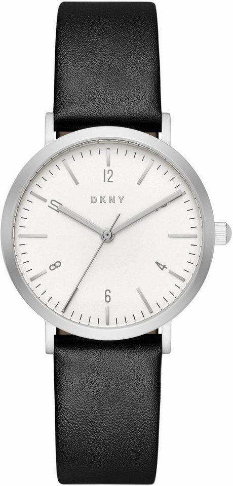 DKNY Quarzuhr »MINETTA, NY2506« in schwarz