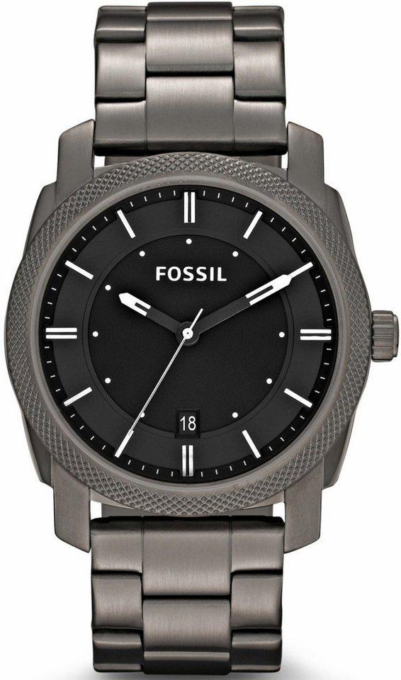 Fossil Quarzuhr »MACHINE, FS4774« in grau