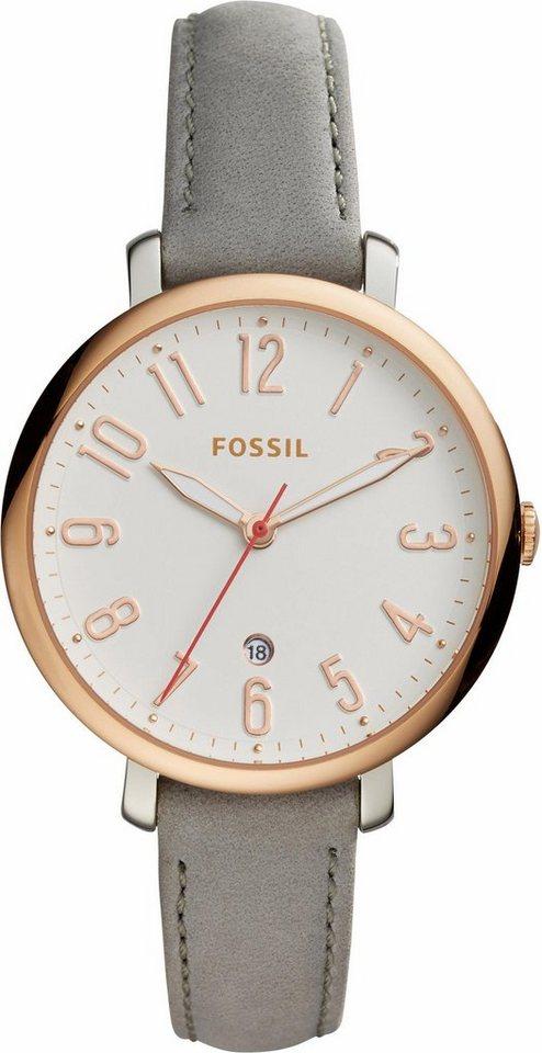 Fossil Quarzuhr »JACQUELINE, ES4032« in grau