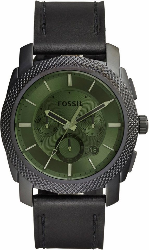 Fossil Chronograph »MACHINE, FS5190« in schwarz