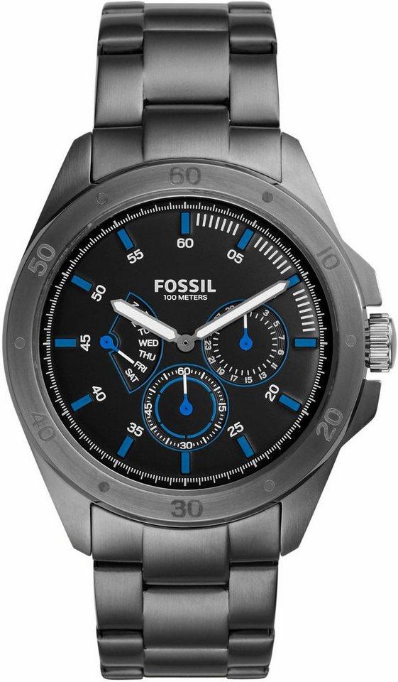 Fossil Multifunktionsuhr »SPORT 54, CH3035« in grau