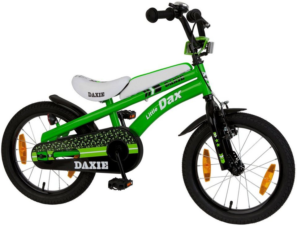 little dax kinderfahrrad daxie 14 16 zoll 1 gang. Black Bedroom Furniture Sets. Home Design Ideas