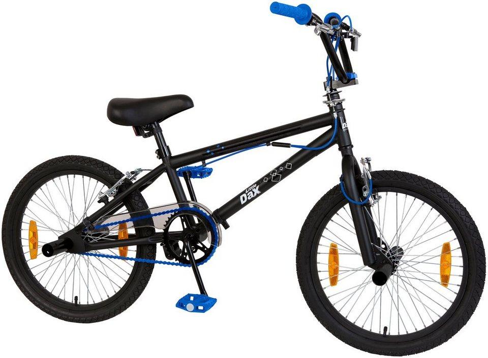 LITTLE DAX BMX »TRICKY«, 20 Zoll, 1 Gang, Felgenbremsen in schwarz