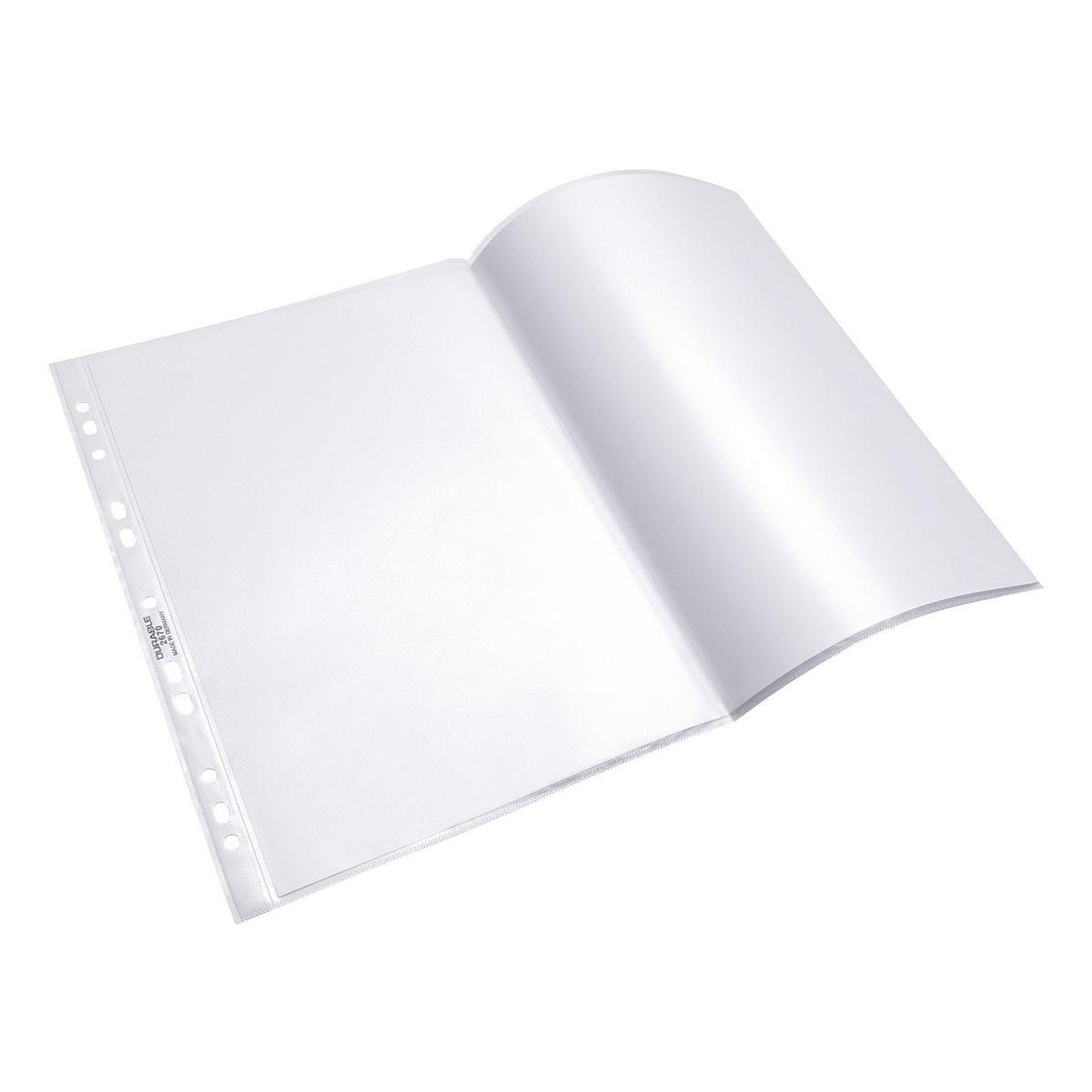 DURABLE Prospekthüllen A3 transparent - 10 Stück