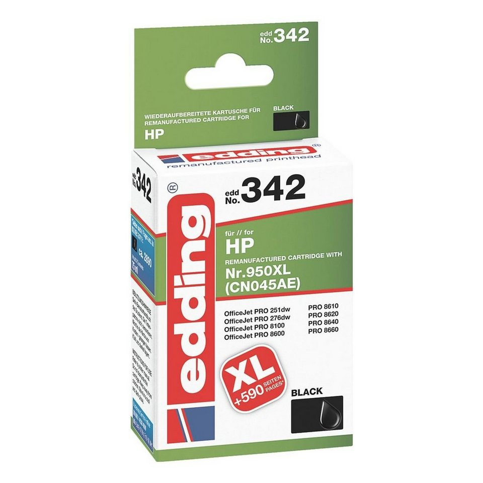 Edding Tintenpatrone ersetzt HP »950XL«