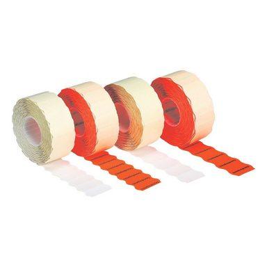 METO 6er-Pack Preisauszeichnungs-Etiketten weiß - permanent »1500«