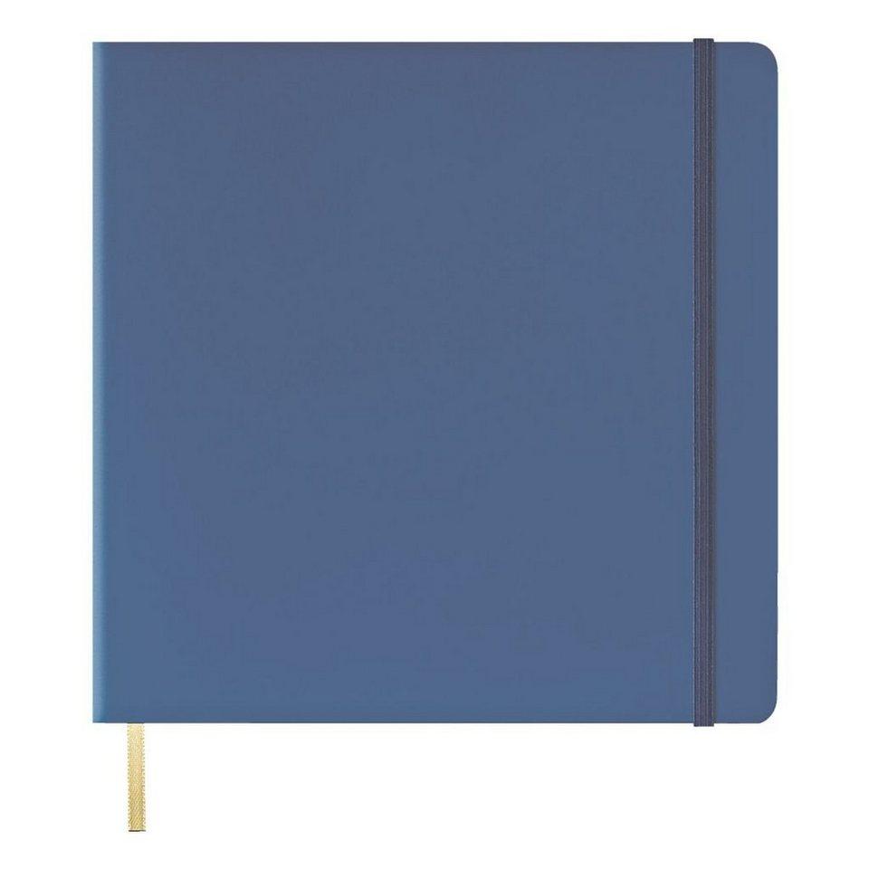 LEDIBERG Notizbuch »Square Size« in blau