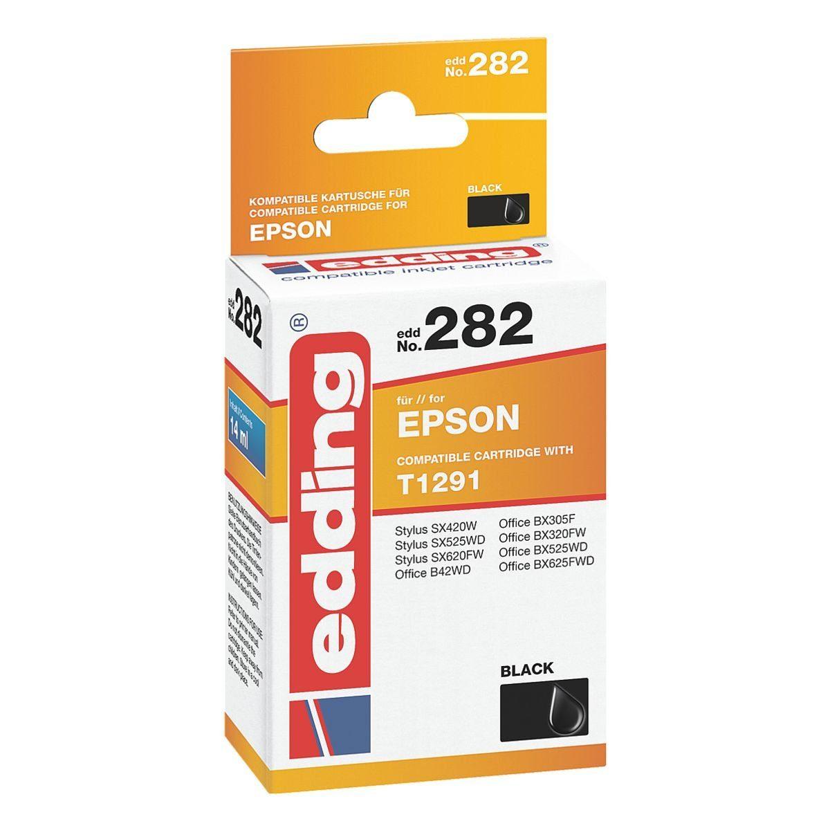 edding Tintenpatrone ersetzt Epson »T1291«