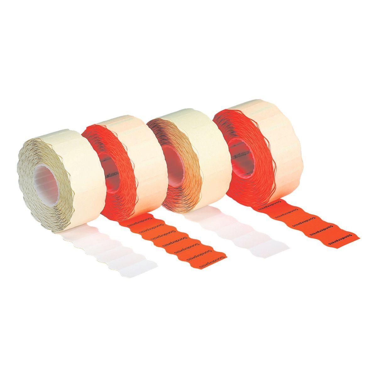 METO 6er-Pack Preisauszeichnungs-Etiketten