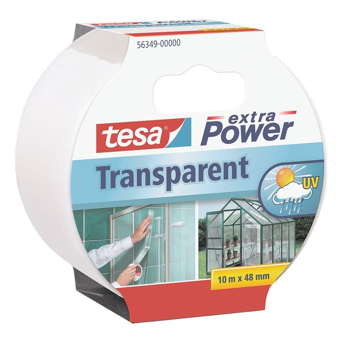Tesa Universal-Klebeband transparent, 48 mm/10 m (B/L) »Extra Power Universal«