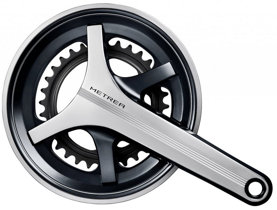 Shimano Kurbel »Metrea FC-U5000 Kurbelgarnitur 2x11-fach 46-32 Z.«