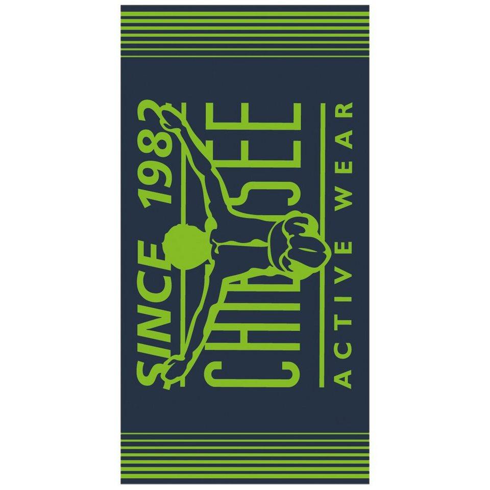 Chiemsee Strandtuch »AKIKO« in green gecko