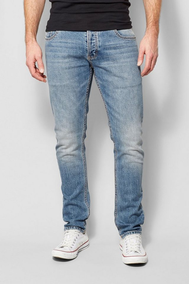 Next Skinny-Fit Bright Blue Stretch-Jeans in Blau Skinny-Fit