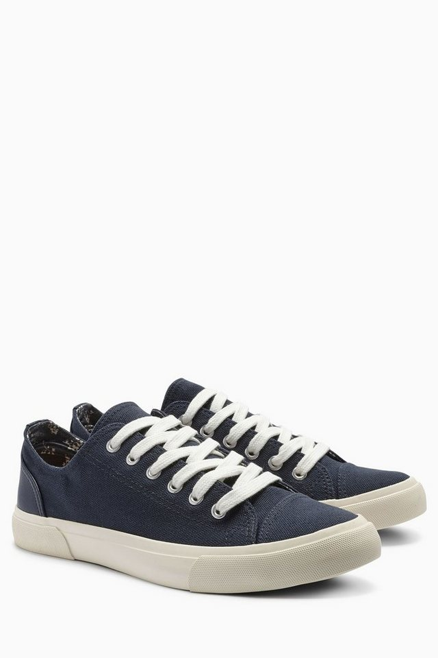 Next Baseball-Sneaker aus Canvas in Marine