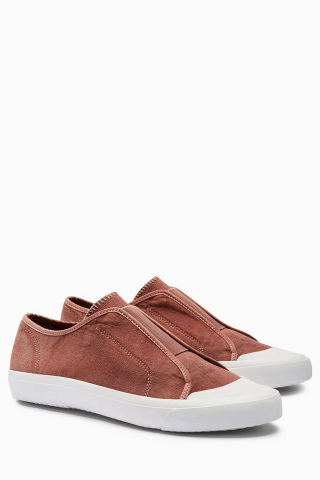 Next Schnürloser Sneaker in Rot