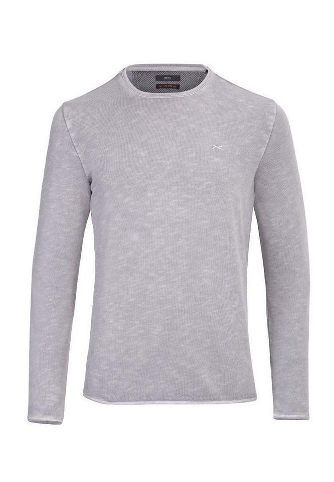 BRAX Herrensweatshirt »SALVATORE« in FLINT
