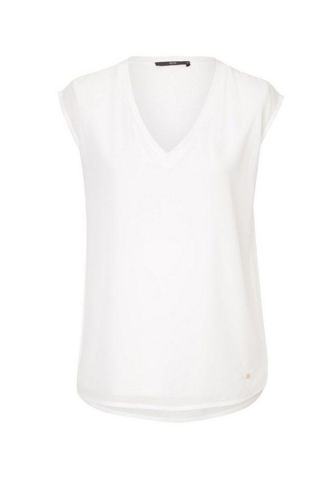 BRAX Bluse »VELIA« in OFF WHITE