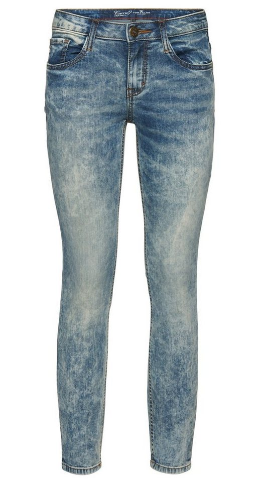 TOM TAILOR Jeans »Carrie Jeans in Ankle-Länge« in bleached blue denim