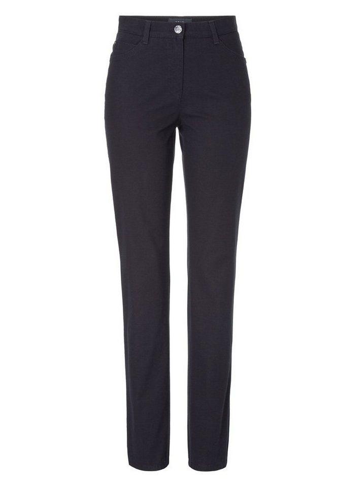 BRAX Damenhose Five-Pocket »CAROLA STONES« in NAVY