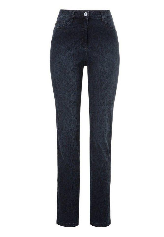 BRAX Jeans »CAROLA« in USED DARK BLUE