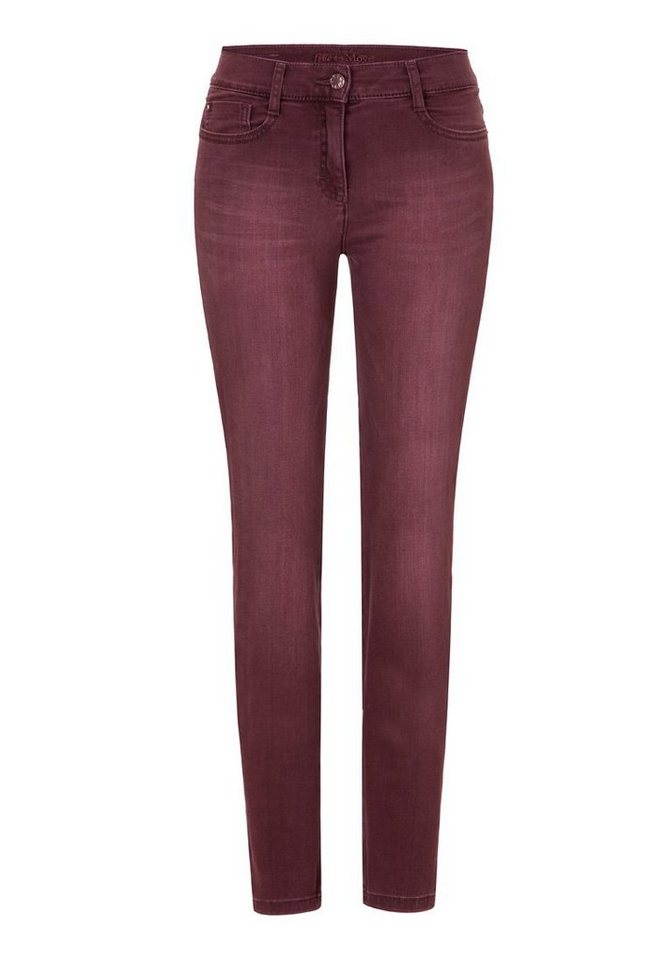 BRAX Jeans »SHAKIRA« in BURGUNDY