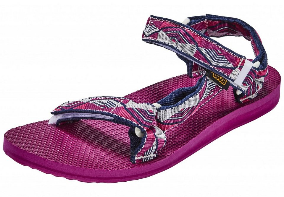 Teva Sandale »Original Universal Sandals Women Pyramid Raspberry« in pink